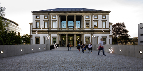 Back entrance of the Stadtpalais Stuttgart