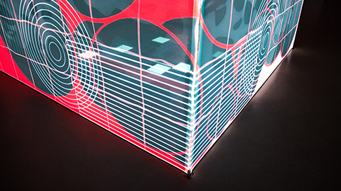 OGLF cube projection mapping